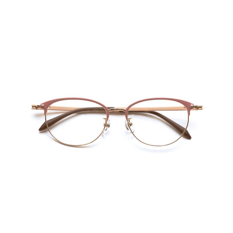 ピントグラス(PG-709)ピンク+湯の花入浴剤プレゼント レディース用 買い換え不要の老眼鏡