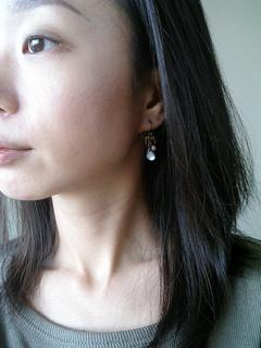 5 1,575 Yen Pierce series チタンポスト is popular ♪ Avion to プチピアス series