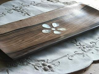 Acacia long tray accessories into the accessory in a nice interior accessories