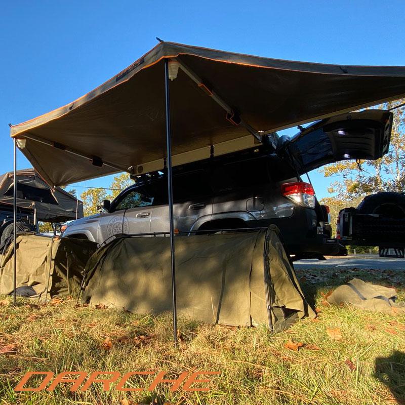 オーニング キャンプ テント 新作 ルーフトップテント アウトドア DARCHE 正規品 ECLIPSE 180 新着セール バーベキュー BBQ オートキャンプ 丈夫 ソロキャンプ ファミリーキャンプ 頑丈 レジャー 軽自動車など多種な車種に対応可能なオーニング