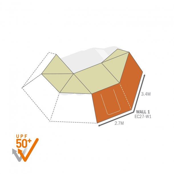 ECLIPSE270用オプションウォール1(助手席側)