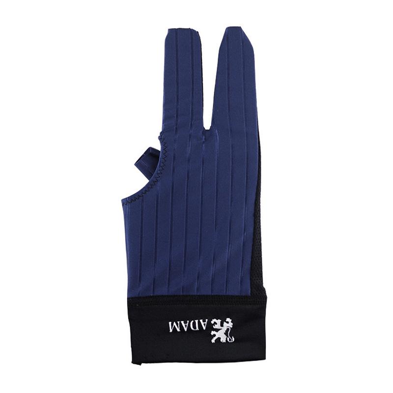 ビリヤード お買い得品 アダム ビリヤードグローブ 日本限定 Adam グローブ ブルー 右利き用 Glove L RH Blue