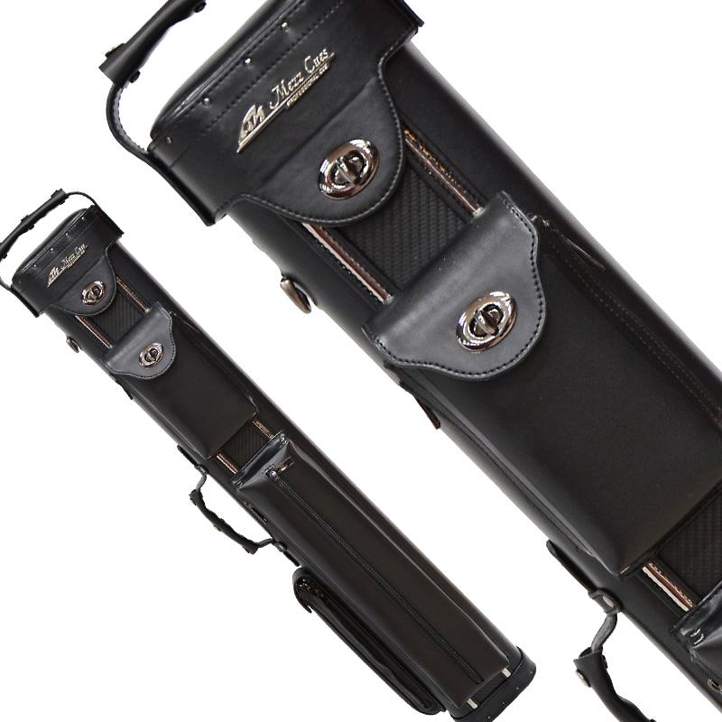 Billiard cue case MEZZ GMC 3 bat 5 shaft black / carbon (Cue Case GMC-35KC)
