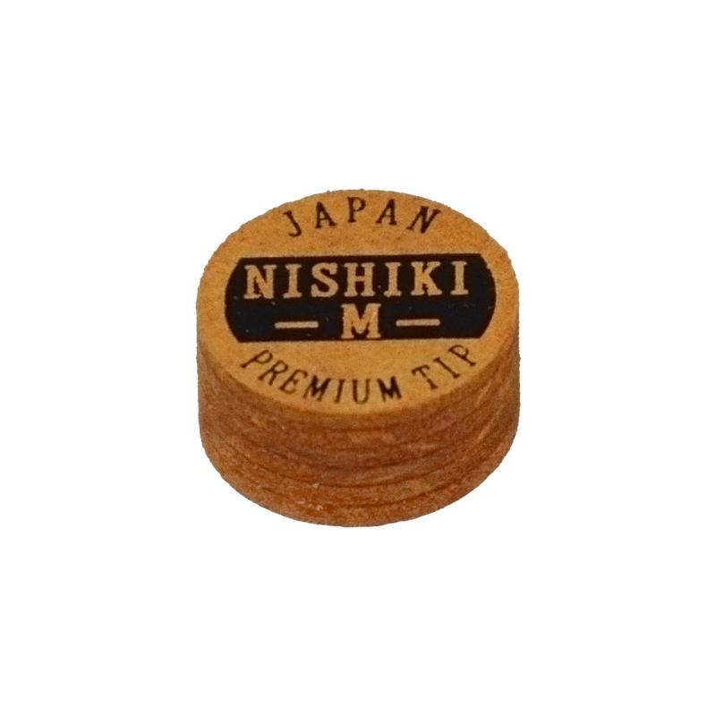 爆売りセール開催中 ビリヤードタップ BILLIARDS TIP タップ NISHIKI 錦 積層タップ M 購入 ブラウン