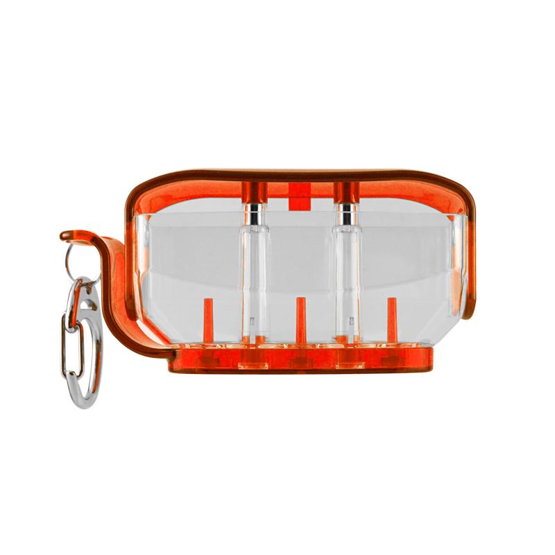 ダーツ フィットフライト フライトケース Fit Flight Orange Holder 期間限定で特別価格 クリアオレンジ フィットホルダー Clear 2020新作