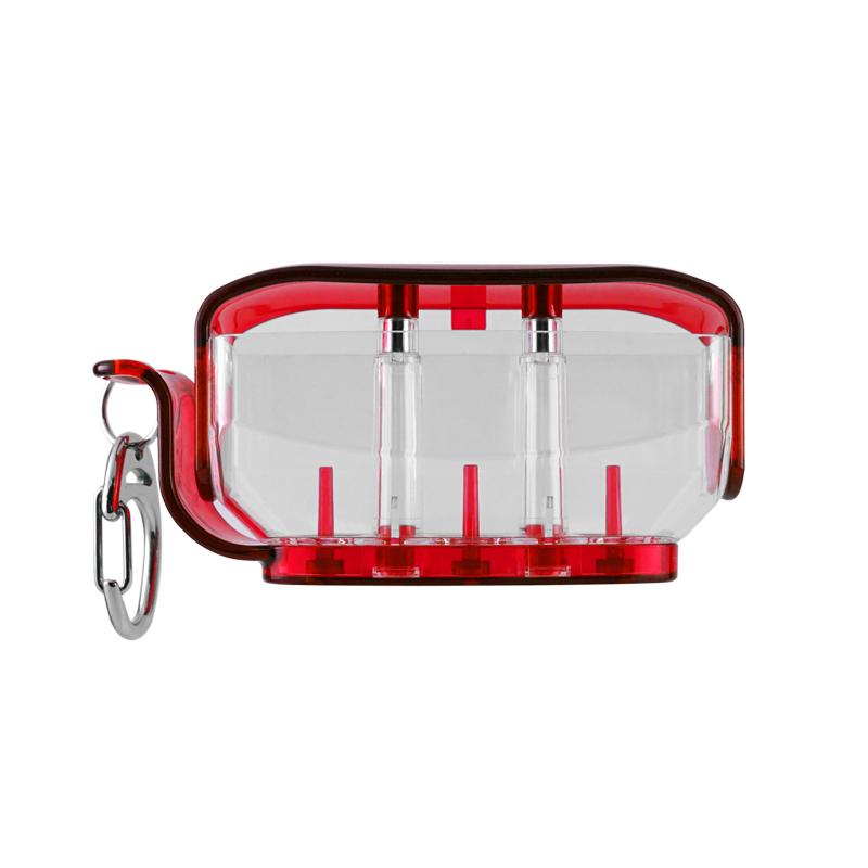 ダーツ フィットフライト フライトケース Fit Flight Clear 世界の人気ブランド クリアレッド 爆売りセール開催中 Holder Red フィットホルダー