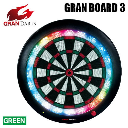 Darts Shop Tito Electronic Dart Board Gran Darts Gran Board 3 Green