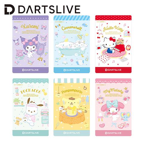 送料無料新品 サンリオ キャラクターカード ダーツ ライブカード サンリオキャラ Sanrio CARD メール便OK DARTSLIVE characters 2トリ セール特別価格