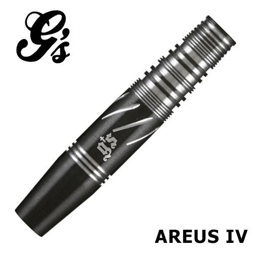 ダーツ バレルg's darts(ジーズダーツ) AREUS IV(アレス4) (メール便OK/10トリ)