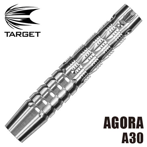ダーツ バレル TARGET AGORA アゴラ A30 SOFT TIP (メール便OK/9トリ)