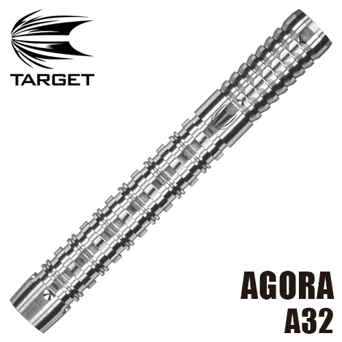 ダーツ バレル TARGET AGORA アゴラ A32 SOFT TIP (メール便OK/9トリ)
