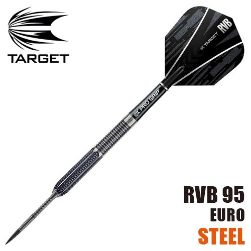 【受注発注】ダーツ バレル TARGET RVB95 STEEL TIP(メール便OK/9トリ)