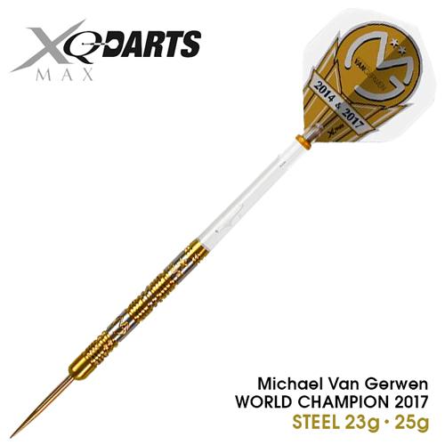 ダーツ Michael Van Gerwen WORLD CHAMPION2017 STEEL