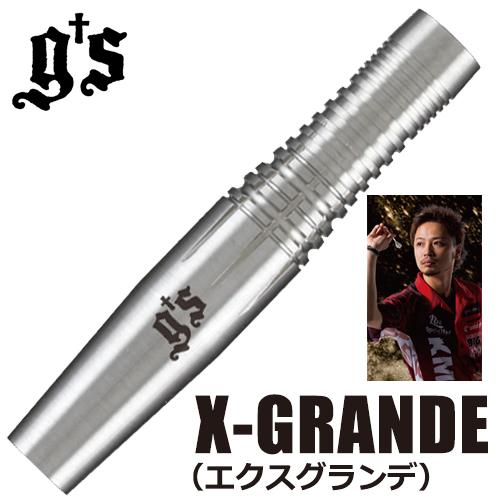 ダーツ バレル g's darts(ジーズダーツ) X-GRANDE(エクスグランデ) 治徳大伸モデル(メール便OK/10トリ)