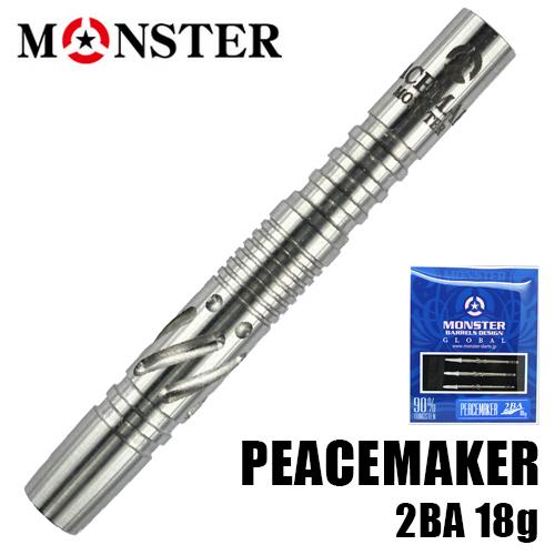 ダーツ バレル モンスター(MONSTER) PEACEMAKER 2BA (メール便OK/10トリ)