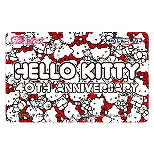 DARTSLIVE卡(Hello Kitty 40TH)(/3 tori)