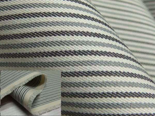 【送料無料】お仕立て付き綿生地羽織コート★ストライプ柄★lko033ha