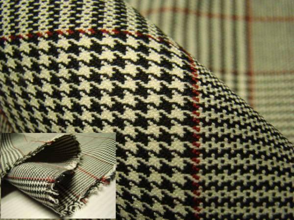 お仕立て付きのモノトーンチェック柄の先染め綿生地の羽織・コートです。 【送料無料】お仕立て付き綿混生地羽織コート チェック柄 lko029ha
