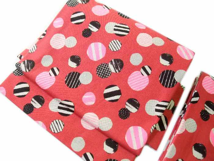 付け帯 つけ帯 作り帯 簡単着付け 赤色 mizutama ice cream lna069