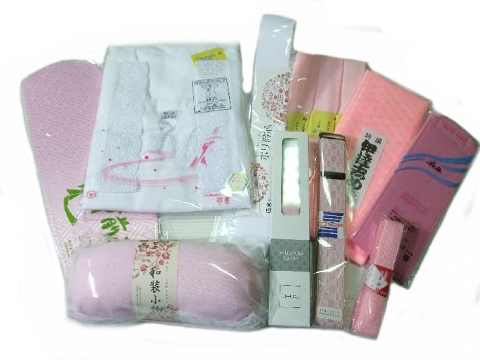 着物 着付け和装小物 10種類13点セット 日本製 ws135