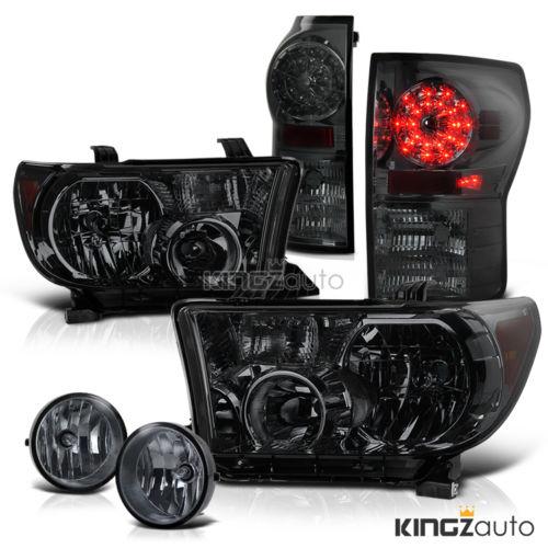 2007年~2013年 タンドラ用 LEDスモークヘッドライト フォグランプ テールライト セット
