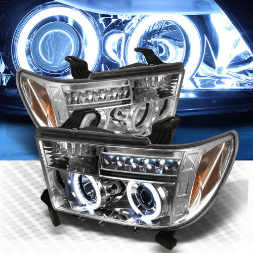 2007年~2013年北米トヨタ タンドラ LEDカスタムヘッドライトイカリング
