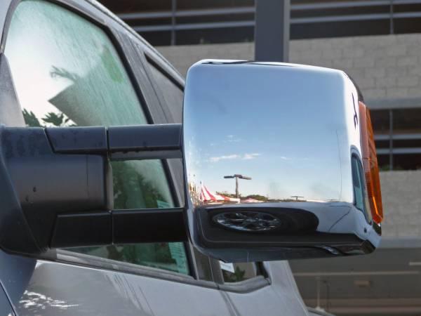 2007~2013USトヨタ  タンドラ クロームトーイングミラーカバー