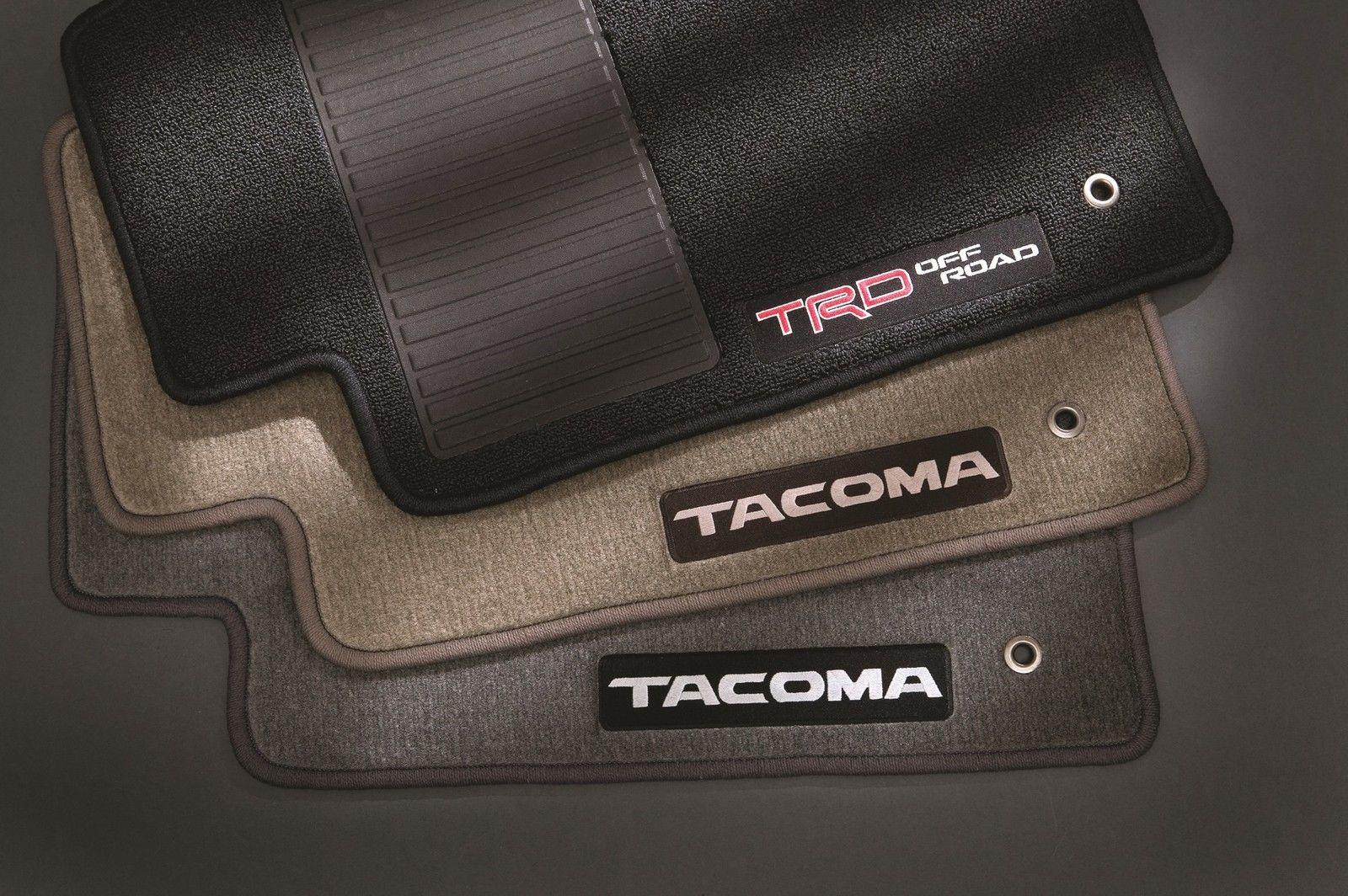 2005年~2011年USトヨタ タコマ純正フロアマット一台分TRDチャコールグレー アクセスキャブ用 [正規品][ロサンゼルスで大人気][自社輸入価格][送料無料][アメ車][逆輸入車][デイブレイク]