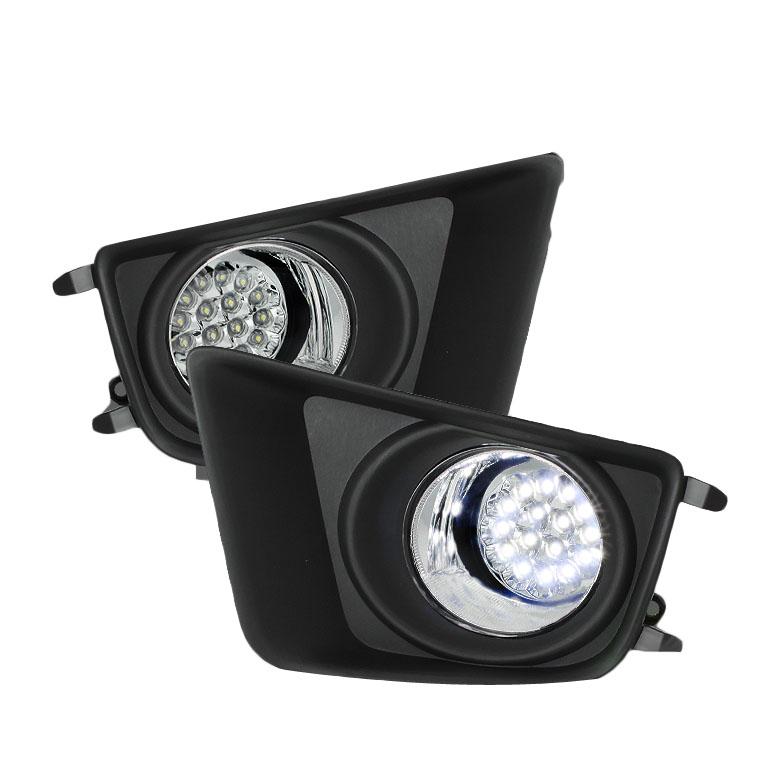 2012年~2014年 タコマ LEDフォグランプ