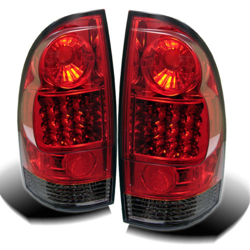 2005年~2014年 タコマ LEDテールライト レッドスモーク