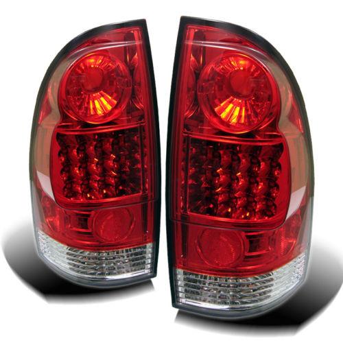 2005年~2014年 タコマ LEDテール レッドクリアー