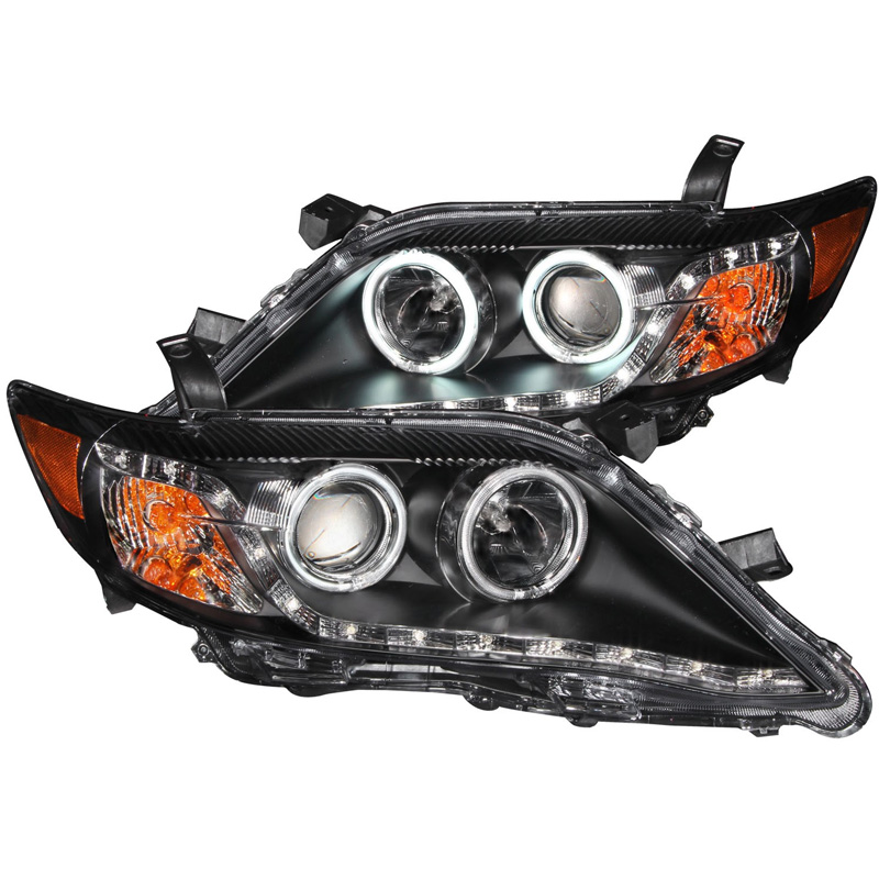 2010~2011北米トヨタ カムリ用ヘッドライト ブラック
