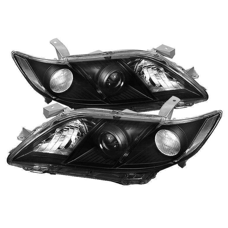 2007年~2009年 北米トヨタ カムリ用ヘッドライトブラック