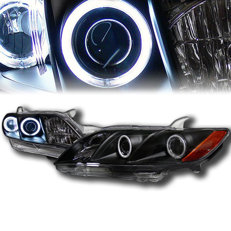 2007年~2009年 北米トヨタ カムリ用プロジェクターヘッドライト ブラック