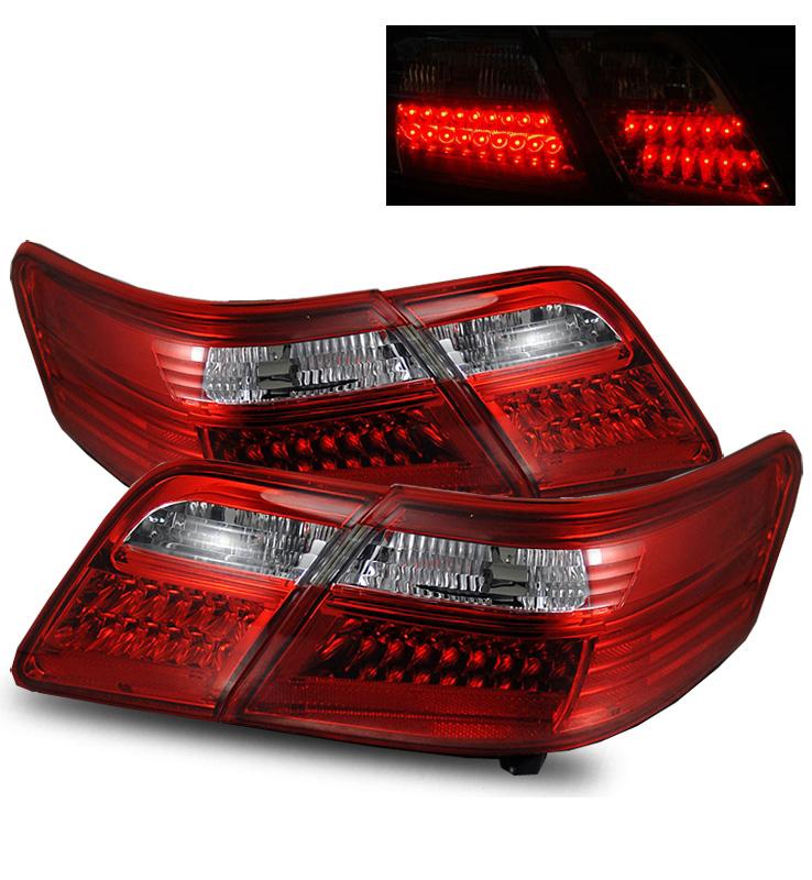2007年~2009年 北米トヨタ カムリ用LEDテールライト レッド
