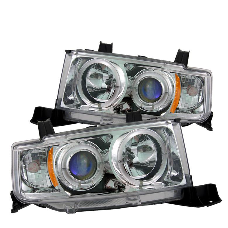 2003年~2006年サイオンxBトヨタbB用ヘッドライト JDMスタイル [ドレスアップ][ロサンゼルスで大人気][自社輸入価格][送料無料][アメ車][逆輸入車][デイブレイク]