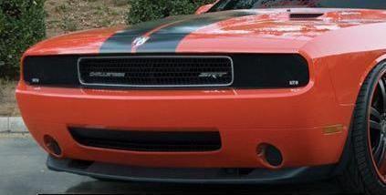 2009年~2014年ダッジ チャレンジャー用 GTS社製スモークヘッドライトカバー ☆[国内最安値に挑戦][送料無料][ドレスアップ][アメ車][逆輸入車][デイブレイク]