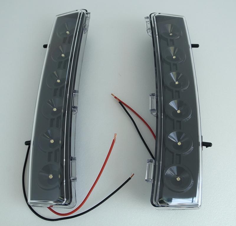 2006年~2008年ニッサン 350Z用 LEDバンパーライト [ロサンゼルスで大人気][自社輸入価格][送料無料][アメ車][逆輸入車][デイブレイク]