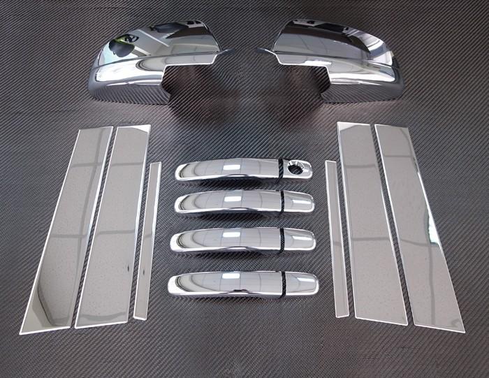 2008年~2012年シボレー マリブ用メッキカバーセット[ロサンゼルスで大人気][自社輸入価格][送料無料][アメ車][逆輸入車][デイブレイク]