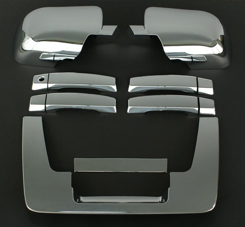 2004年~2014年 US日産 タイタン用 クロームメッキカバー一台分