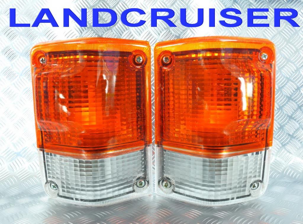 ランドクルーザーFJ60用フロントウインカー 社外新品 ランクル60[希少品][取付簡単][アメ車][逆輸入車][デイブレイク]