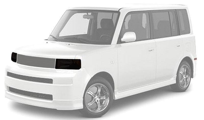 2003年~2006年 サイオンxB トヨタbB用GTSスモークヘッドライトカバー[ドレスアップ][取付簡単][アメリカ直輸入][アメ車][逆輸入車][デイブレイク]