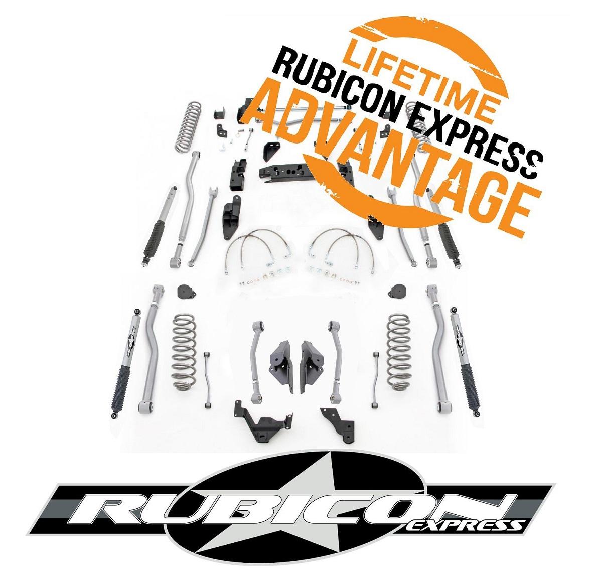 Rubicon Express 2007年~2015年 ラングラーJK用5.5インチリフトアップキット [ルビコン][アメリカ直輸入][送料無料][アメ車][逆輸入車][デイブレイク]