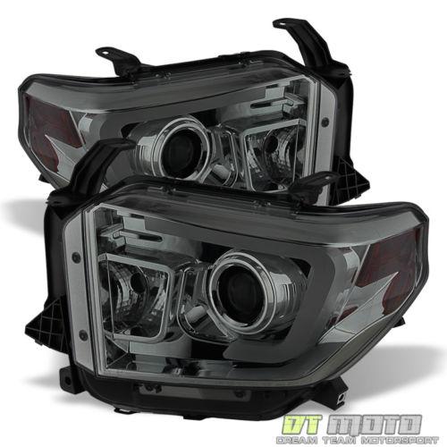2014年~現行 USトヨタ タンドラ用LEDバー ヘッドライト スモーク[USA直輸入][新商品][ドレスアップ][アメ車][逆輸入車][デイブレイク]