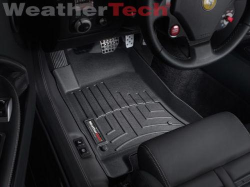 2007年~2012年フェラーリ599GTB用 ウェザーテック フロアマット ブラック 黒[USA直輸入][カスタム][ドレスアップ][アメ車][逆輸入車][デイブレイク]