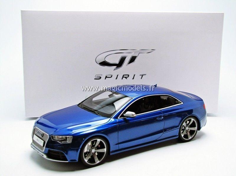 GT Spirit 2012 Audi RS5 Sepang Blue 1/18 アウディ[USA直輸入][大人のミニカー][プレゼントにおすすめ][デイブレイク]