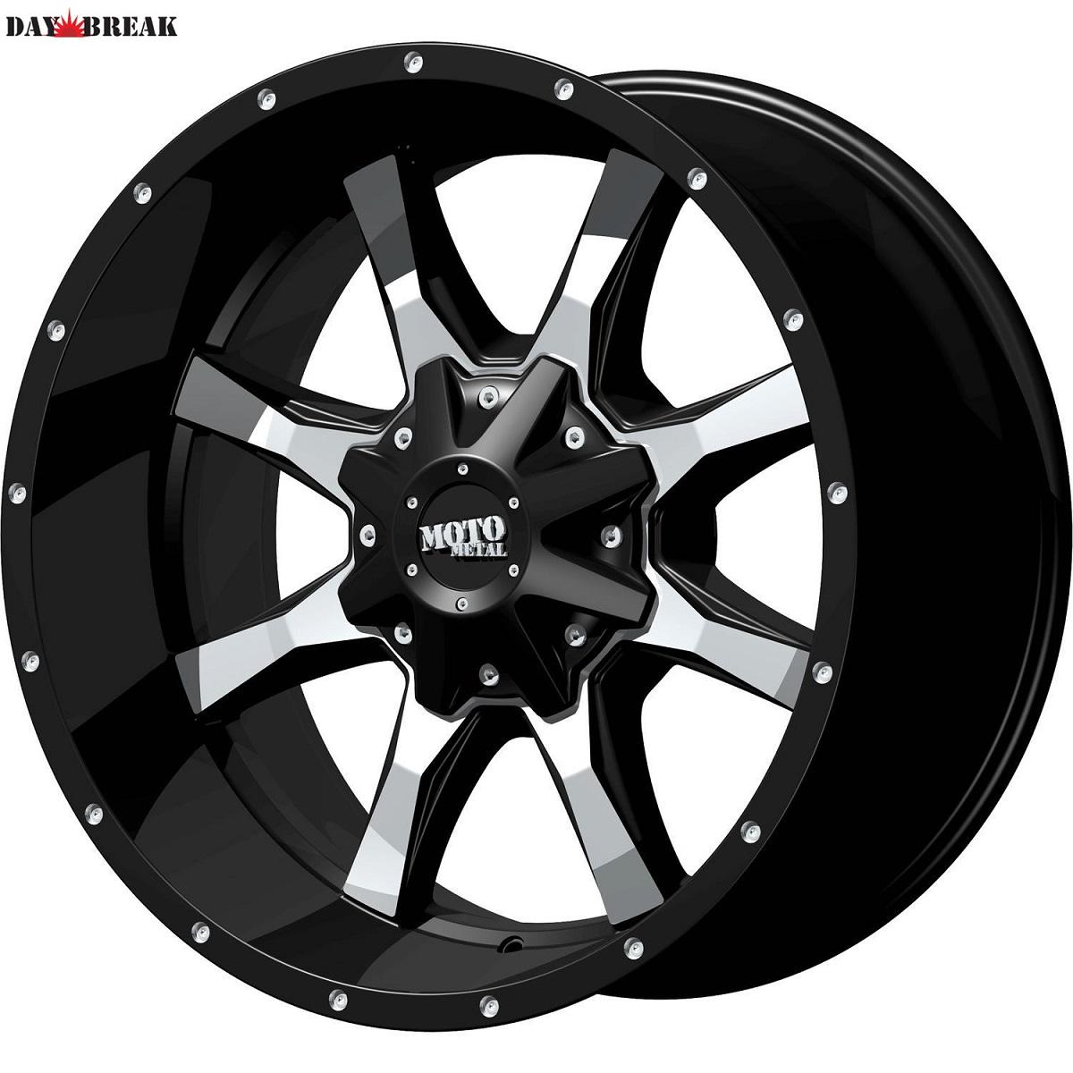 Black Moto Metal MO970 5x150 +18 20x9 Trail Blade MT 35インチタイヤ 20インチホイール セット [2007年~タンドラ][2008年~セコイア][ランクル100][ランクル200][送料無料][バランス組み込みサービス][アメ車][逆輸入車][デイブレイク]