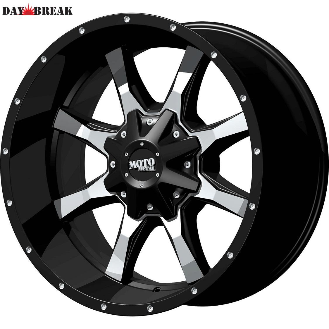 20x9 Black MO970 5x150 +18 Open Country RT 33X12.50R20LT Tires 33インチタイヤ 20インチホイール セット[2007~タンドラ][2008~セコイア][ランクル200][アメ車][逆輸入車][デイブレイク]