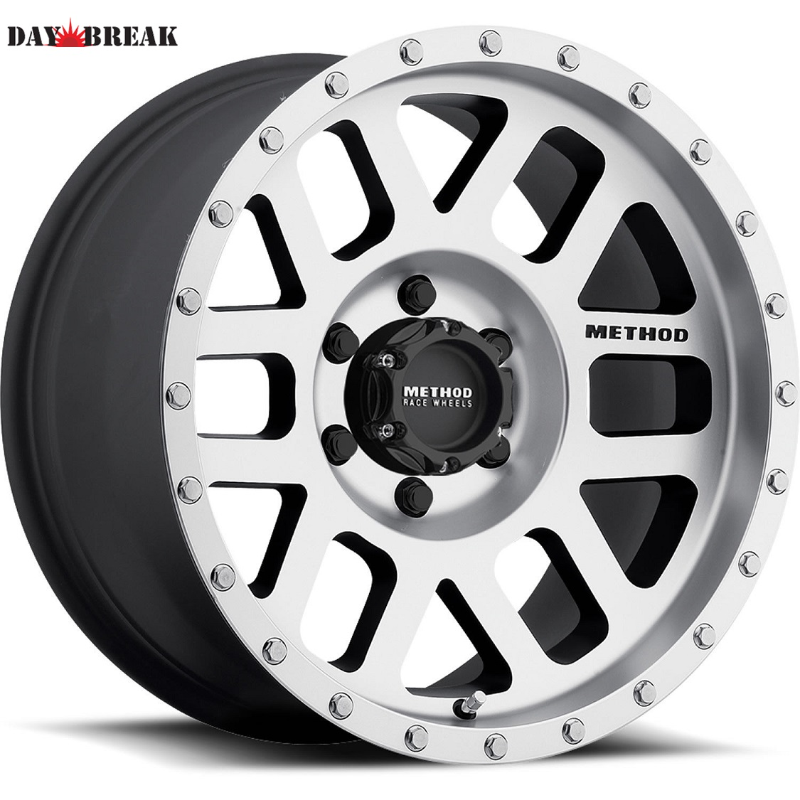 20x9 Machined Black Method Mesh5x150 +18 LT35x12.50R20 Tires 35インチタイヤ 20インチホイール セット[2007~タンドラ][2008~セコイア][ランクル200][アメ車][逆輸入車][デイブレイク]