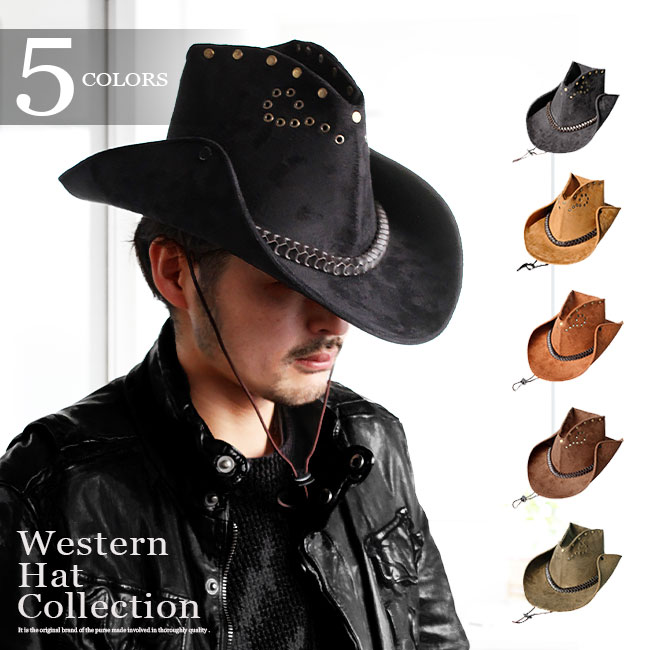 4d81f458e0f55 Lether goods Silver accessory Days Art  !! Leather hat felt leather ...